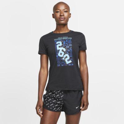 Top de running para mujer Nike Dri-FIT Chicago
