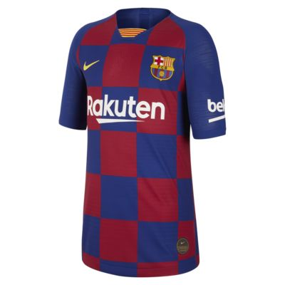 Maillot de football FC Barcelona 2019/20 Vapor Match Home pour Enfant plus âgé