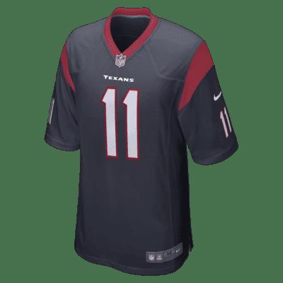 NFL Houston Texans (Jaelen Strong) Men's Game Football Jersey