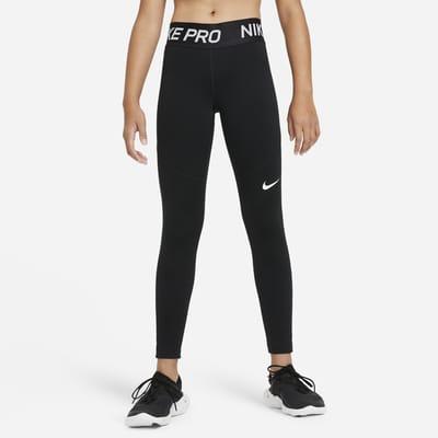 Nike Pro Warm 大童(女孩)训练紧身裤