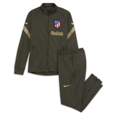 Atlético de Madrid Strike Older Kids' Knit Football Tracksuit