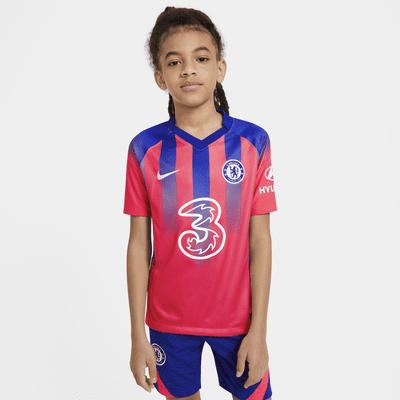 Maglia da calcio Chelsea FC 2020/21 Stadium per ragazzi - Terza