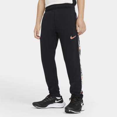 Nike Dri-FIT Older Kids' (Boys') Graphic Tapered Training Trousers