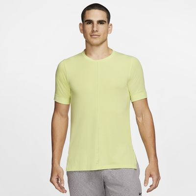 Nike Dri-FIT Yoga Men's Short-Sleeve Top