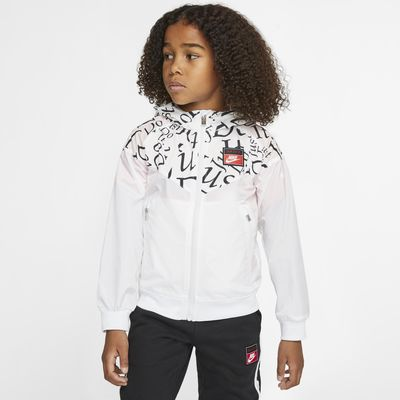 Bunda Nike Sportswear Windrunner pro malé děti