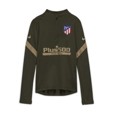 Prenda superior de entrenamiento de fútbol para niños talla grande Atlético de Madrid Strike