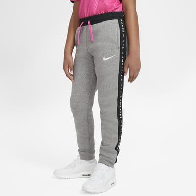 Pantalon de football en tissu Fleece Kylian Mbappé pour Enfant plus âgé