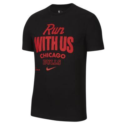 芝加哥公牛队 Mantra Nike Dri-FIT NBA 男子T恤