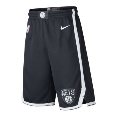 Brooklyn Nets Icon Edition Older Kids' Nike NBA Swingman Shorts