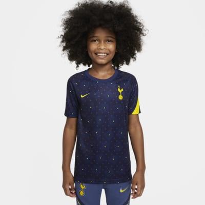 Haut de football d'avant-match à manches courtes Tottenham Hotspur pour Enfant plus âgé
