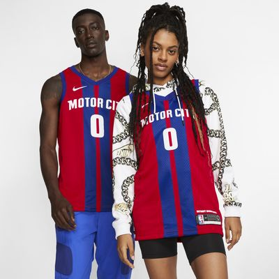Camisola NBA da Nike Swingman Andre Drummond Pistons – City Edition