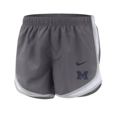 Nike College Dri-FIT Tempo (Michigan) Women's Running Shorts
