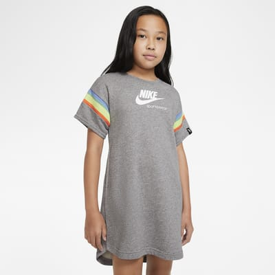 Vestido de manga curta Nike Sportswear Heritage Júnior (Rapariga)