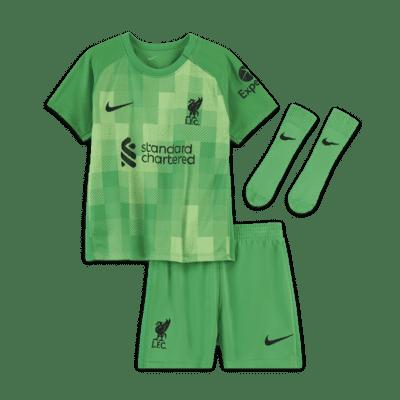 Divisa da calcio Liverpool FC 2021/22 Goalkeeper - Neonati/bimbi piccoli