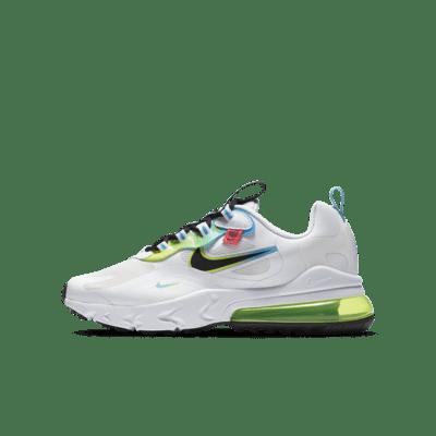 Chaussure Nike Air Max 270 React pour Enfant plus âgé. Nike LU