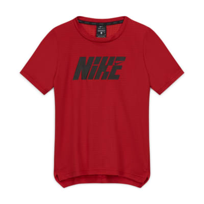 Nike Graphic Big Kids' (Boys') Short-Sleeve Training Top