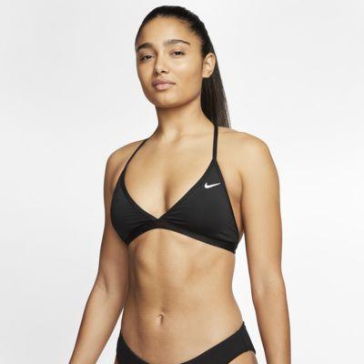 Top bikini con spalline a T Nike Essential - Donna