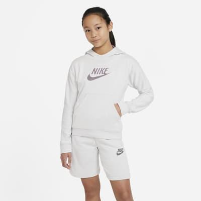 Nike Sportswear-pullover-hættetrøje til store børn