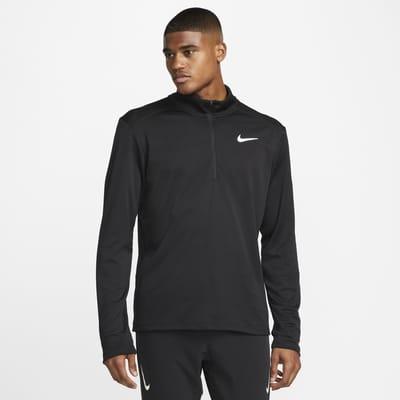 Nike Pacer-løbeoverdel med halv lynlås til mænd