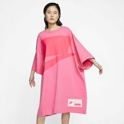 ナイキ スポーツウェア NSW ウィメンズ オーバーサイズ ショートスリーブ ドレス