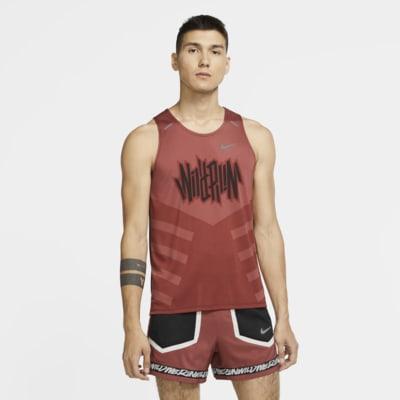 Pánské běžecké tílko Nike Dri-FIT Rise 365 Wild Run