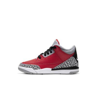 Calzado para niños talla pequeña Jordan 3 Retro SE