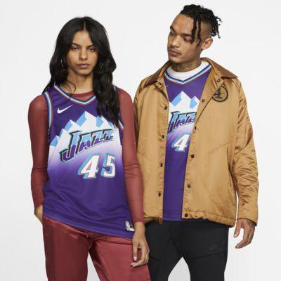 犹他爵士队 (Donovan Mitchell) Classic Edition Swingman Nike NBA Jersey 男子球衣