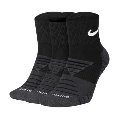 Κάλτσες προπόνησης μέχρι τον αστράγαλο Nike Everyday Max Cushioned (3 ζευγάρια)