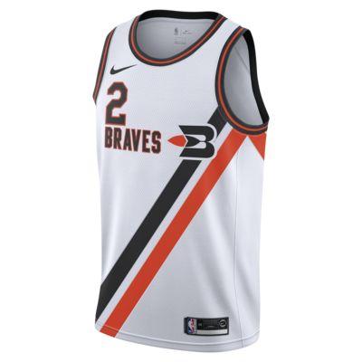 洛杉矶快船队 (Kawhi Leonard) Classic Edition Nike NBA Swingman Jersey 男子球衣