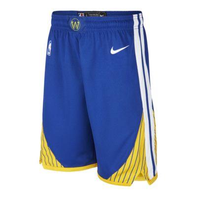 Shorts Warriors Icon Edition Nike NBA Swingman för ungdom