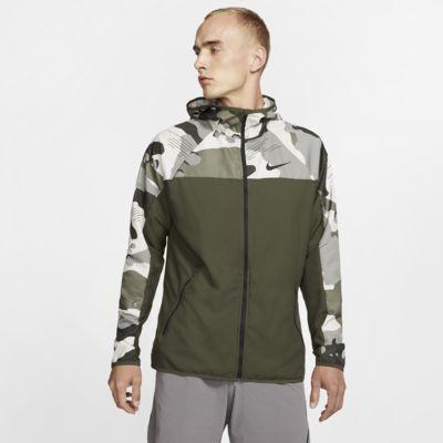 Nike Men's Full-Zip Camo Training Hoodie