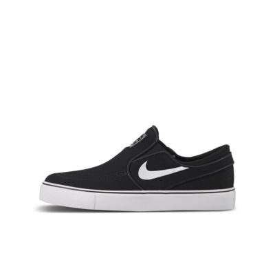 Nike SB Stefan Janoski Canvas Slip-on Big Kids' Skateboarding Shoe