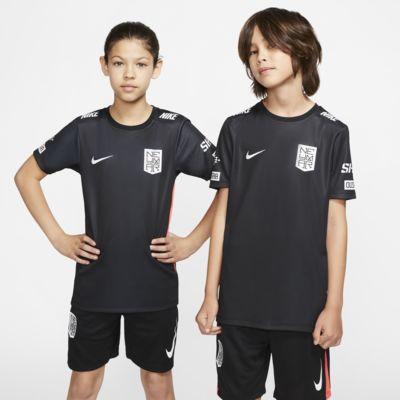 Koszulka piłkarska z krótkim rękawem dla dużych dzieci Nike Dri-FIT Neymar Jr.