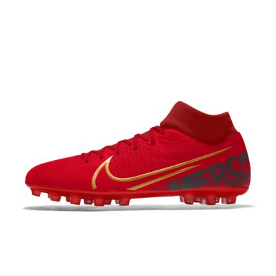 Nike Mercurial Superfly 7 Academy AG By You Custom voetbalschoen (kunstgras)