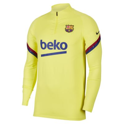 FC Barcelona Strike Men's Soccer Drill Top