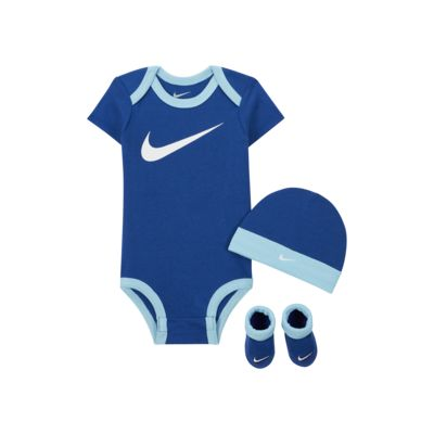 Zestaw śliniak i buciki dla niemowląt Nike