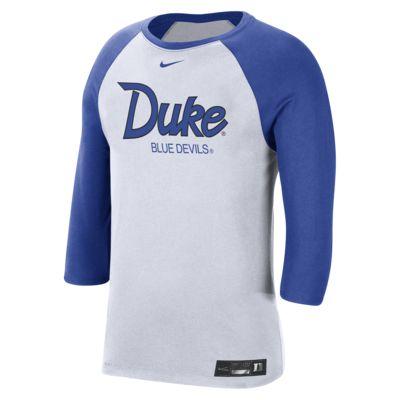 Nike College Dri-FIT (Duke) Men's 3/4-Sleeve T-Shirt