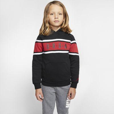 Air Jordan Younger Kids' Colour-Blocked Taped Hoodie