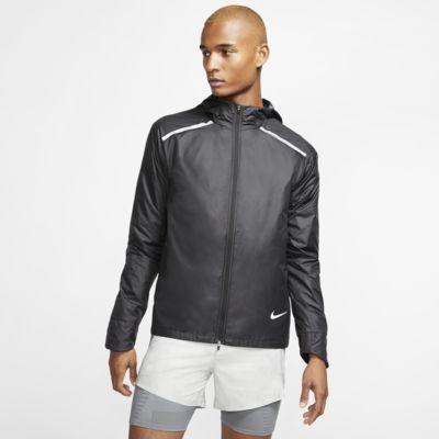 Nike Repel-løbejakke med hætte til mænd