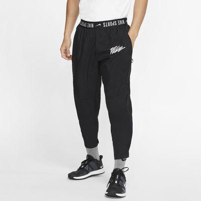 Calças de treino entrançadas Nike para homem