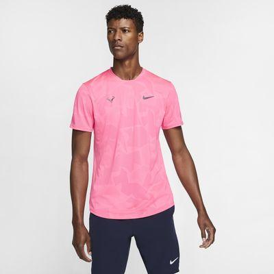 NikeCourt AeroReact Rafa Men's Short-Sleeve Tennis Top