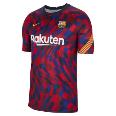 FC Barcelona Men's Short-Sleeve Soccer Top