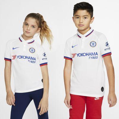 Chelsea FC 2019/20 Stadium Away Older Kids' Football Shirt