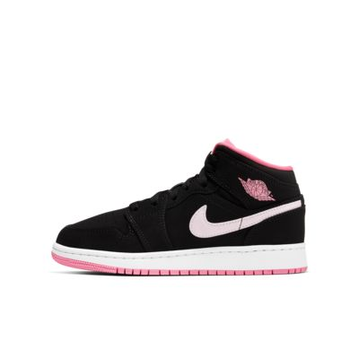 Air Jordan 1 Mid Big Kids' Shoe