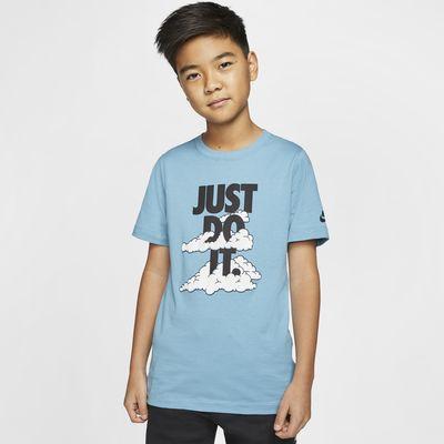 大男孩t恤短袖_Nike Sportswear 大童(男孩)T恤-耐克(Nike)中国官网