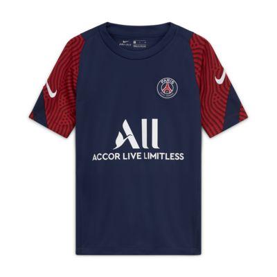 Paris Saint-Germain Strike Voetbaltop met korte mouwen voor kids