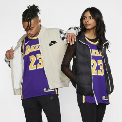 LeBron James Lakers Statement Edition Nike NBA Swingman Jersey