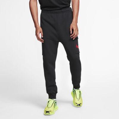 Nike Sportswear Swoosh mintás, oldalzsebes férfinadrág