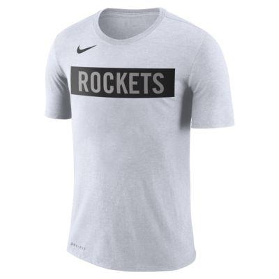 Playera de la NBA para hombre Rockets City Edition Logo Nike Dri-FIT