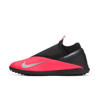 Nike Phantom Vision Club DF Astro Turf Football Boots Mens Red//Silver Footwear
